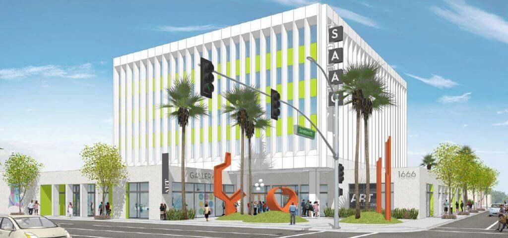 Santa Ana Arts Collective Apartments View